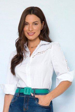 camisa feminina branca com renda sonia lekazis 2