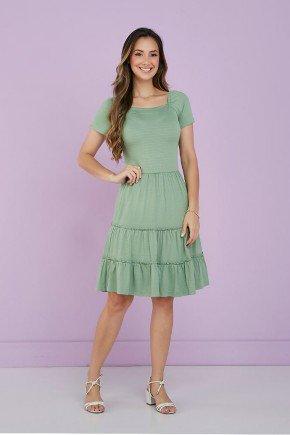vestido verde folha barrado tres marias tata martello