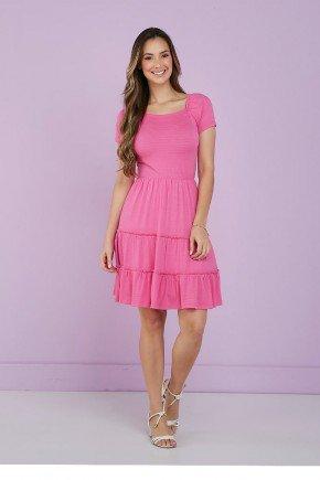 vestido pink barrado tres marias tata martello