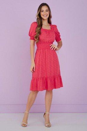 vestido rosa detalhe em lastex kiara tata martello 1