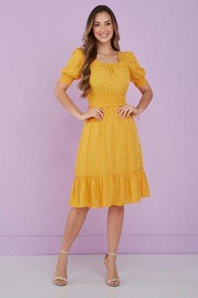 vestido amarelo detalhe em lastex kiara tata martello 1