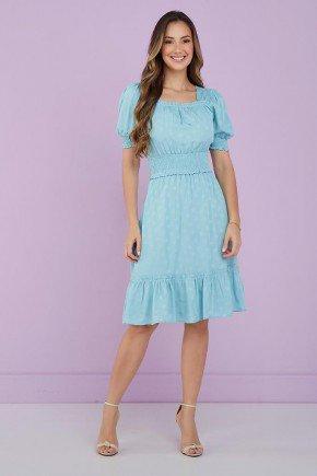 vestido azul bebe detalhe em lastex kiara tata martello 1