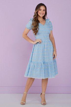 vestido azul claro lesie 2