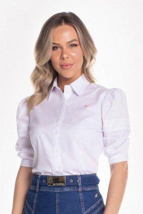 camisa branco manga 34 com preguinhas via tolentino 1
