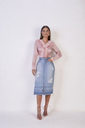 blusa rose acetinada gola laco manga longa titanium jeans1