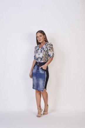 saia jeans reta detalhe lateral escuro titanium jeans1
